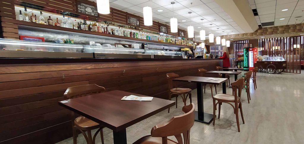 Barra cafeteria CCA