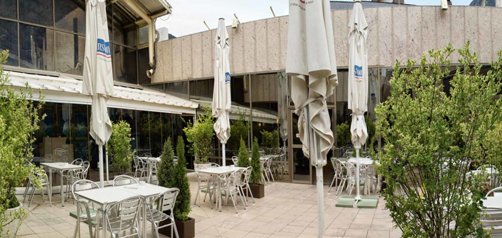 Terrassa cafeteria restaurant cca